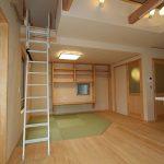 LD 畳コーナーの上にはロフトを設置 収納スペースとしても使えます